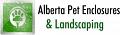 Alberta Pet Enclosures and Landscaping logo