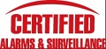 Certified Alarms Inc. logo