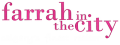 Farrah In The City logo