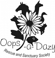 Oops-a-Dazy Rescue and Sanctuary Society logo