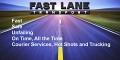Fast Lane Transport & Hot Shot logo