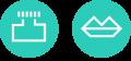 Inkykiss Communications logo