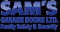 Sam's Garage Door logo