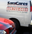 SaraCares Carpet & Upholstery Cleaning logo