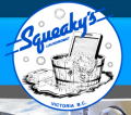 Squeakys Laundromat logo