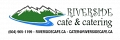 Riverside Cafe and Catering logo