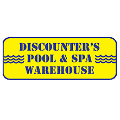 Discounter's Pool and Spa Warehouse logo