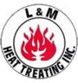 L & M Heat Treating logo