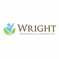 Wright restorations & Contracting logo