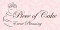 Piece of Cake Event Planning logo