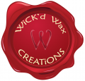 Wick`d Wax Creations ~ The Candle Shoppe logo