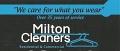 Milton Cleaners logo