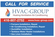 HVAC-GROUP Heating Ventilation Air Conditioning Repair Services logo