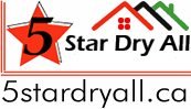 5stardryall.ca 24/7 Flood and Water Damage Restoration logo