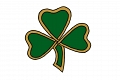 Gold and Shamrock logo