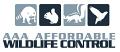 AAA AFFORDABLE WILDLIFE CONTROL logo