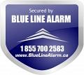 Blue Line Alarm logo
