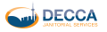 Decca Janitorial Services logo