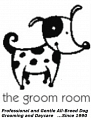the groom room logo