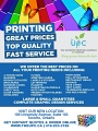 THE ULTIMATE PRINTING COMPANY INC. logo