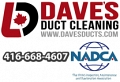 Dave's Duct Cleaning logo