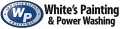 White's Painting And Power Washing logo
