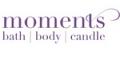 Bath, Body, Candle Moments logo